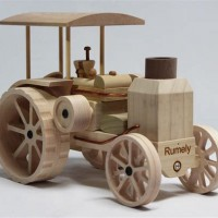 Wooden Tractors Toys